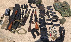 بعد البلبلة التي أثارتها صور الاسلحة المصادرة… الجيش يوضح