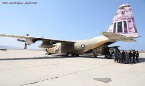 الجيش يتسلم موادا طبية مقدمة من الأردن
