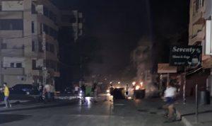 محتجون يقطعون طريق القبة-مجدليا ومستديرة بيستاشيو