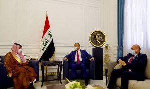 السعودية: ملتزمون بدعم واستقرار العراق