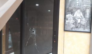 رصاصات طائشة خرقت مكتب رئيس بلدية صيدا!