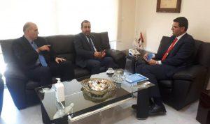 وزير الزراعة عرض مع عطاالله لأوضاع القطاع