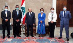 """عون: نأمل بتطوير التعاون مع """"الصحة العالمية"""""""