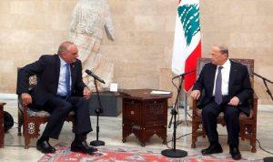 عون: نؤكّد متانة العلاقات التاريخية بين لبنان والأردن