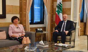 فرونتسكا: مستعدون أن نرافق لبنان بمرحلة الانتخابات