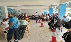 حملة تلقيح في مخيم البداوي