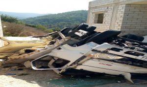 جريحان بانقلاب سيارة في داريا