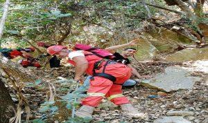 إنقاذ 6 شبان علقوا في واد بالضنية