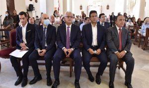 قداس في غوسطا على نية نجاح وزير الاتصالات بمهامه