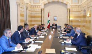 ملفات أساسية على طاولة مجلس الوزراء