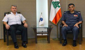 عثمان استقبل المستشار الأمني لدى السفارة التركية مودعا