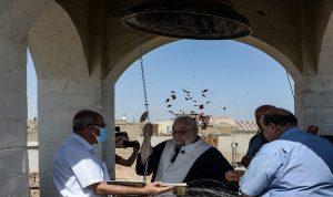 بعد 7 أعوام… كنيسة في الموصل تعود إلى قرع الجرس