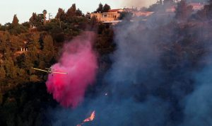 إسرائيل… إندلاع حرائق بسبب بالونات حارقة