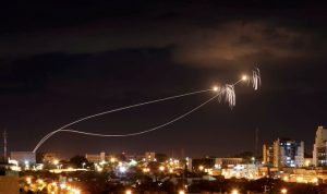 الجيش الإسرائيلي: اعتراض قذيفة صاروخية أطلقت من غزة