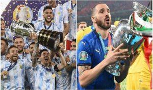 مباراة سوبر بين إيطاليا والأرجنتين