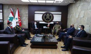 قائد الجيش استقبل السفير التركي