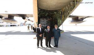 هبة غذائية من الأردن إلى الجيش اللبناني