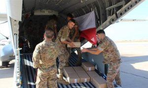 هبة غذائيّة من التشيك للجيش اللبناني