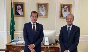 سفير لبنان لدى فرنسا يزور نظيره السعودي