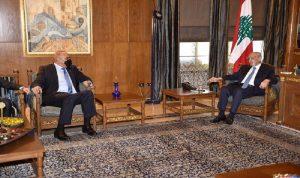 الأوضاع العامة بين بري ورئيس الوزراء الأردني