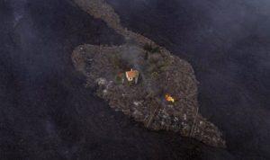 سلسلة هزات ارتدادية تضرب منطقة بركان جزيرة لابالما