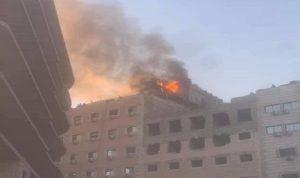 قتيل وجرحى بحريق في مدينة السيدة زينب بسوريا