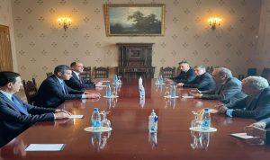 طوني فرنجيه التقى بوغدانوف: تشديد على اهمية الدور الروسي