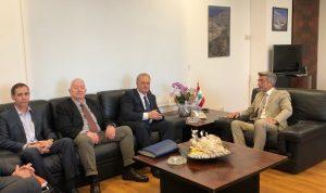 العلاقات الثنائية بين فياض والسفير الروسي