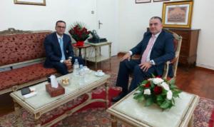 سفيرا لبنان في الجزائر والأردن أكدا أهمية التضامن بين البلدين