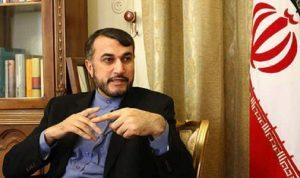 عبداللهيان: نرحب بالسلام والاستقرار في العراق