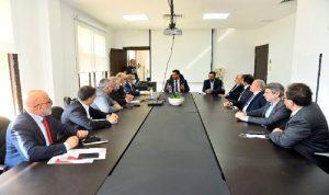 مشاكل الصناعيين على طاولة وزير الاقتصاد