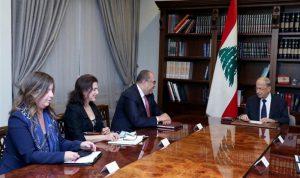 عون: حريصون على الاتفاق مع صندوق النقد