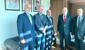 """وفد من """"الأحرار"""" في السفارة الأردنية"""