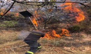 حريق كبير في جديدة القيطع العكارية