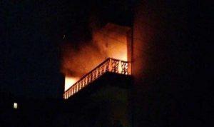 توتر في عكار.. إضرام النار في مبنى بسبب خلافات ثأرية
