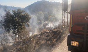 إخماد حريق في خراج كروم عرب التهم أشجارا مثمرة