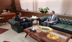 العلاقات الثنائية بين قرداحي والسفير التركي