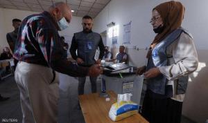 فتح مراكز الاقتراع في الانتخابات التشريعية العراقية