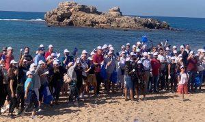 جبيل… حملة تنظيف الشاطئ بمبادرة ألمانية! (صور)