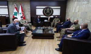 قائد الجيش استقبل السفير البريطاني