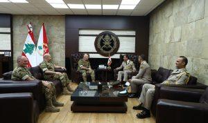 قائد الجيش بحث مع وفد مصري علاقات التعاون