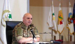 رسالة قويّة من قائد الجيش إلى الحكّام