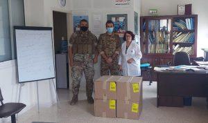"""هبة من """"مؤسسة بنك الغذاء اللبناني الخيرية"""" للجيش"""