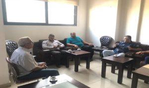 لقاء بين سعد وأصحاب المولدات في صيدا