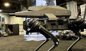 بالفيديو: روبوتات مسلحة للعمليات العسكرية