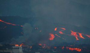 إسبانيا: لا نهاية وشيكة لثوران بركان جزيرة لا بالما