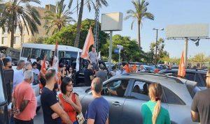 """مواكب سيّارة لمناصري """"التيار"""" نحو نهر الموت"""