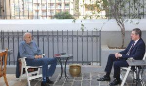 المستجدات السياسية بين جنبلاط وسفير رومانيا