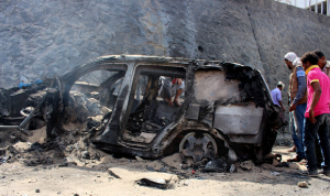 انفجار استهدف محافظ عدن في اليمن