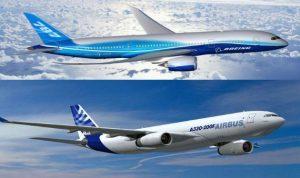 دفاتر شركات صناعة الطائرات تمتلئ بطلبيات شراء من الشرق الأوسط وآسيا